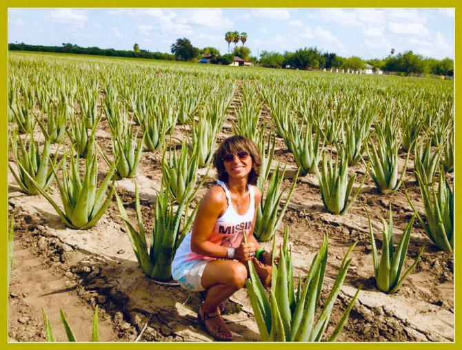Diamond Sapphire Manager Maria Luisa Zaza - Aloe Vera of America